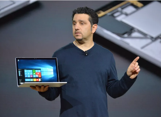 Microsoft's Surface chief