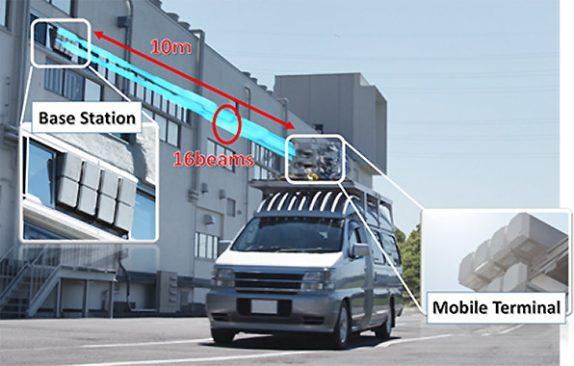 Mitsubishi-NTT DOCOMO -achieve -first 27Gbps- 5G data speeds