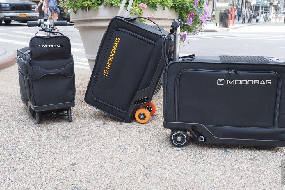 Modobag- motorized luggage