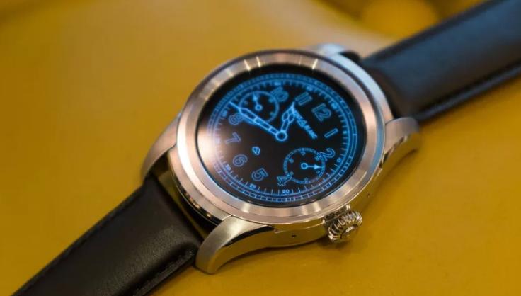 16549ced9 شركة Montblanc تستعد لإطلاق أول ساعة ذكية تعمل بنظام Android Wear ...
