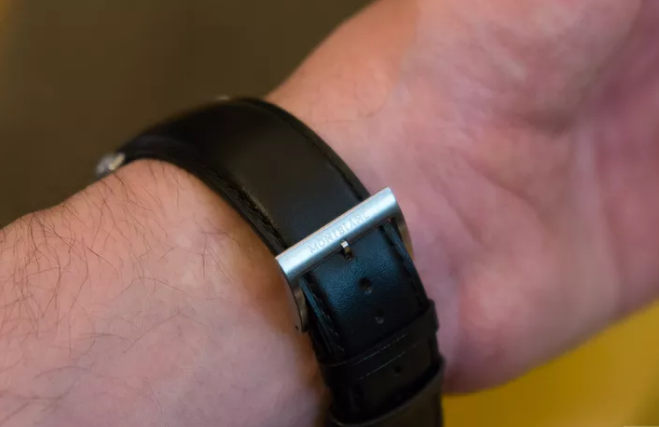 Montblanc's first smartwatch 4