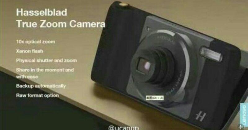 Moto Z camera mod leaked