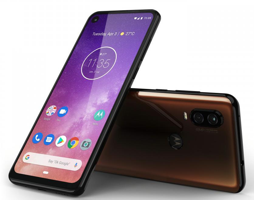 موتورولا تقدم هاتف One Vision بأبعاد 21:9 ورقاقة معالج Exynos وسعر 335 دولار Motorola-One-Vision-