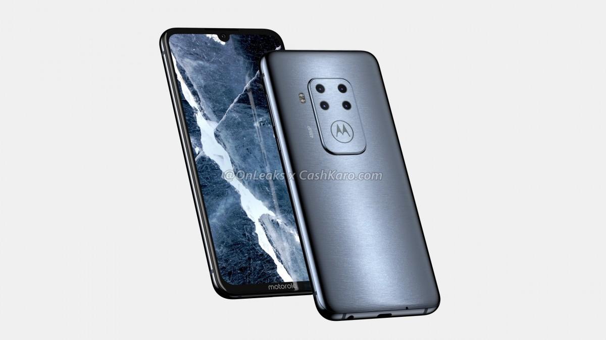 Motorola- first quad camera smartphone