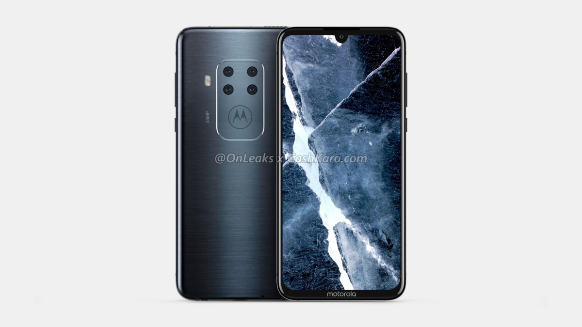 Motorola first quad camera smartphone