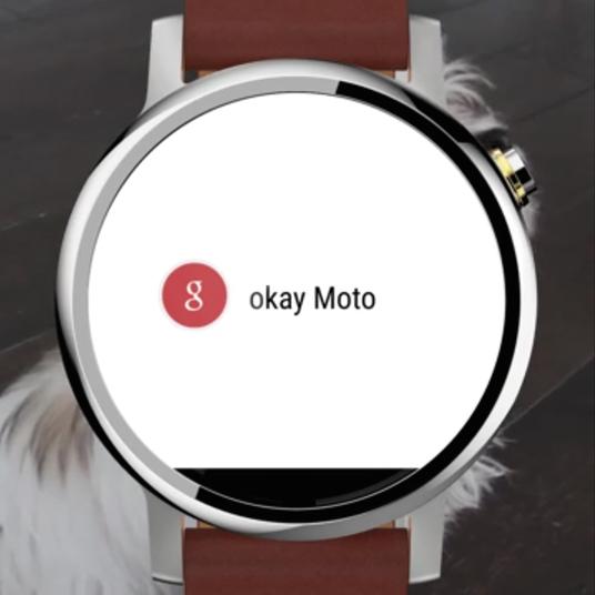 Motorola - new Moto 360