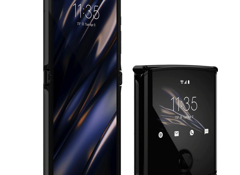 موتورولا تعلن رسميا عن هاتف razr بشاشة OLED مرنة وسعر 1500 دولار تقريبا