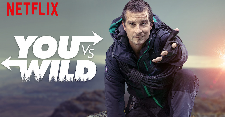Netflix تستعد لإطلاق العرض التفاعلي You vs Wild في 10 من أبريل