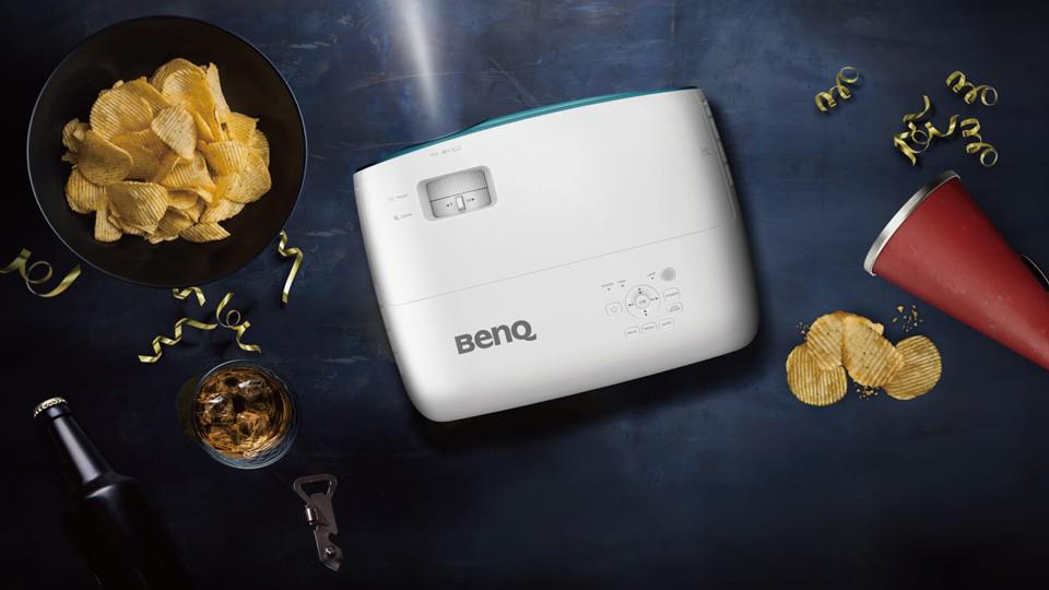 BenQ تعلن عن إصدارها الجديد من أجهزة العرض المنزلي BenQ TK800M