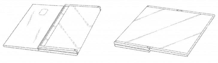 New Samsung patent-dual foldable- display design