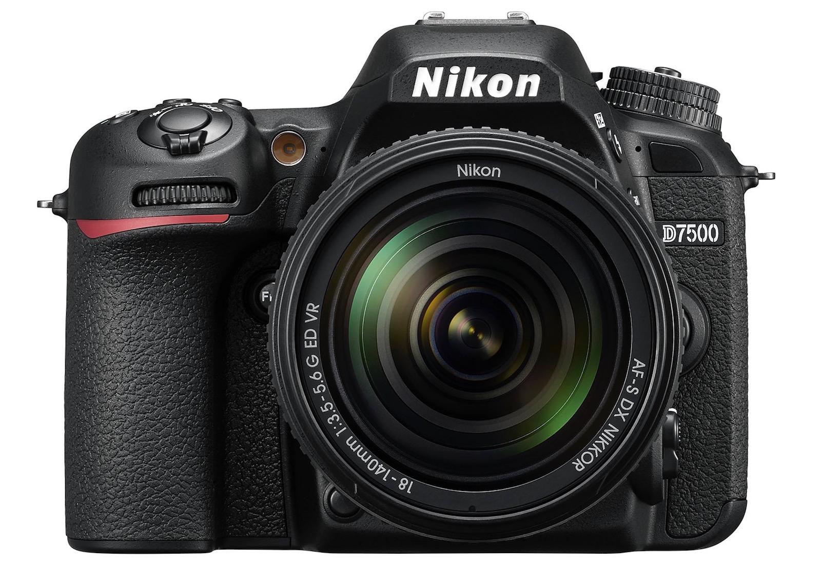Nikon's D7500 DSLR