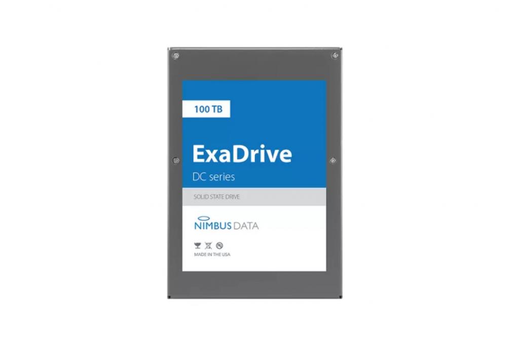 Nimbus Data تختبر قرص SSD سعة 100 تيرابايت