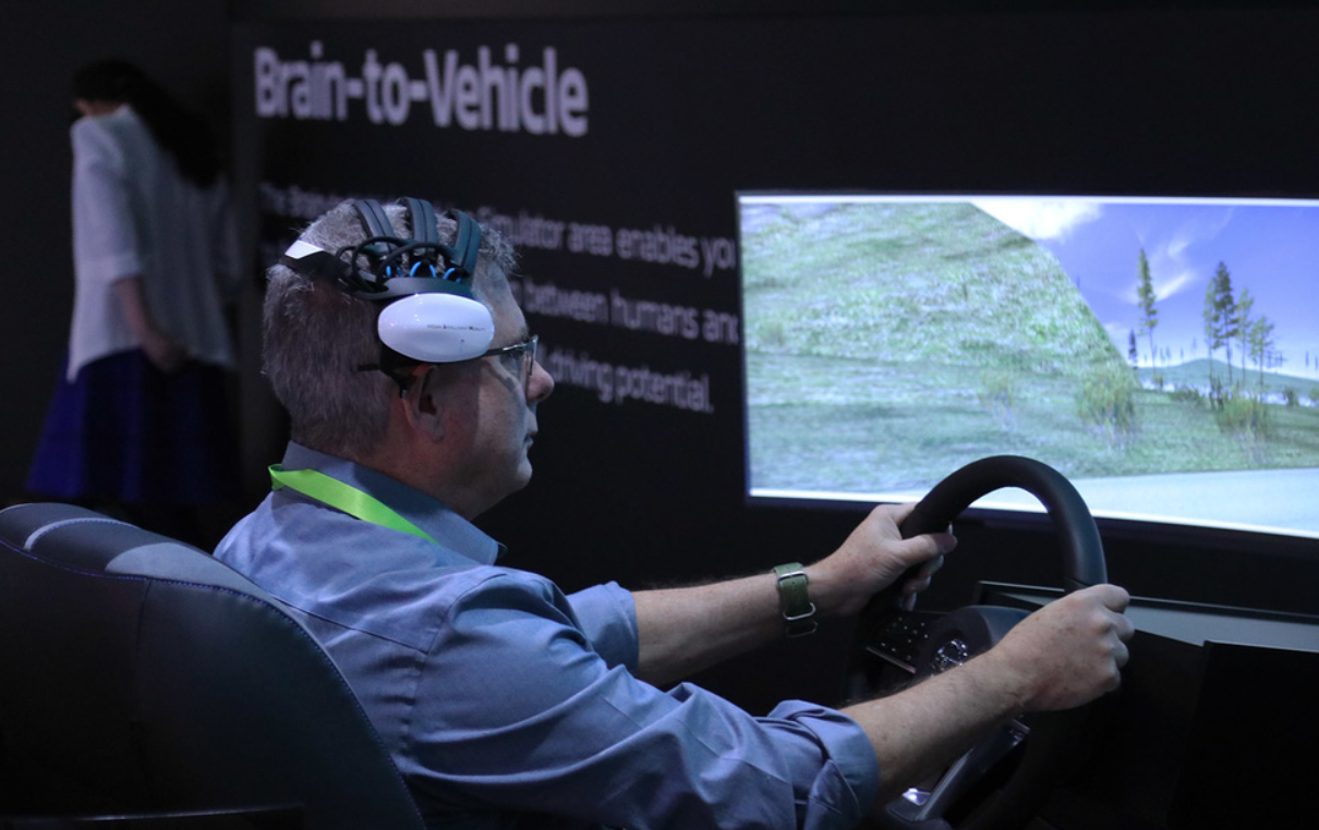 Nissan Brain-to-Vehicle experience