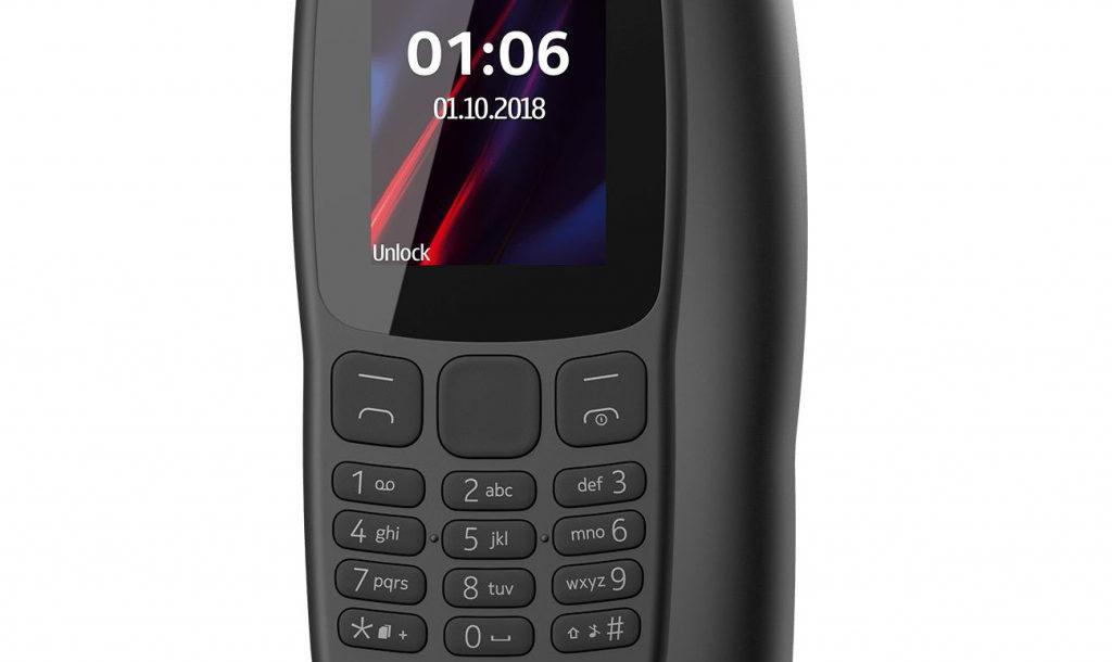 Nokia 106 أحدث هاتف منخفض التكلفة من HMD بسعر 23 دولار
