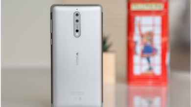 Nokia 8 with 6GB RAM and 128GB storage