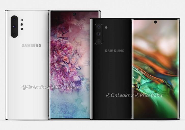 تسريبات تستعرض مواصفات هاتف Galaxy Note10 قبل الإعلان الرسمي