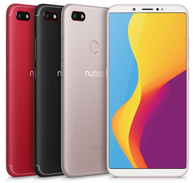 Nubia تكشف عن أحدث هواتفها Nubia V18 في الصين