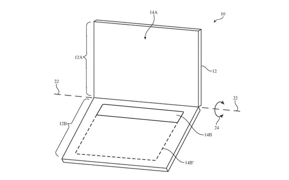 OLED screen as a keyboard for MacBooks