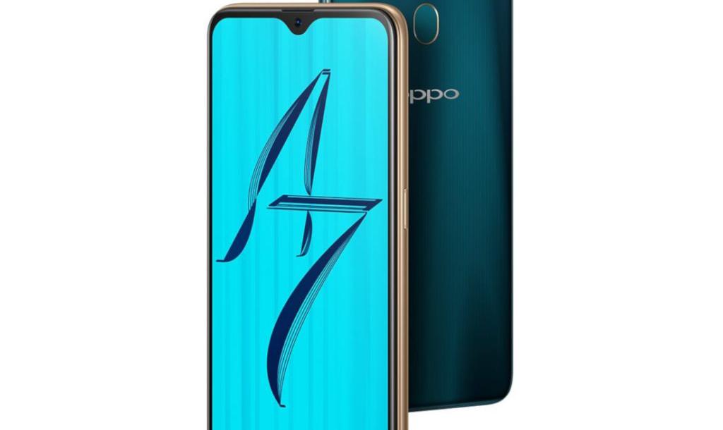 هاتف OPPO A7 ينطلق في الهند بسعر 240 دولار تقريبا