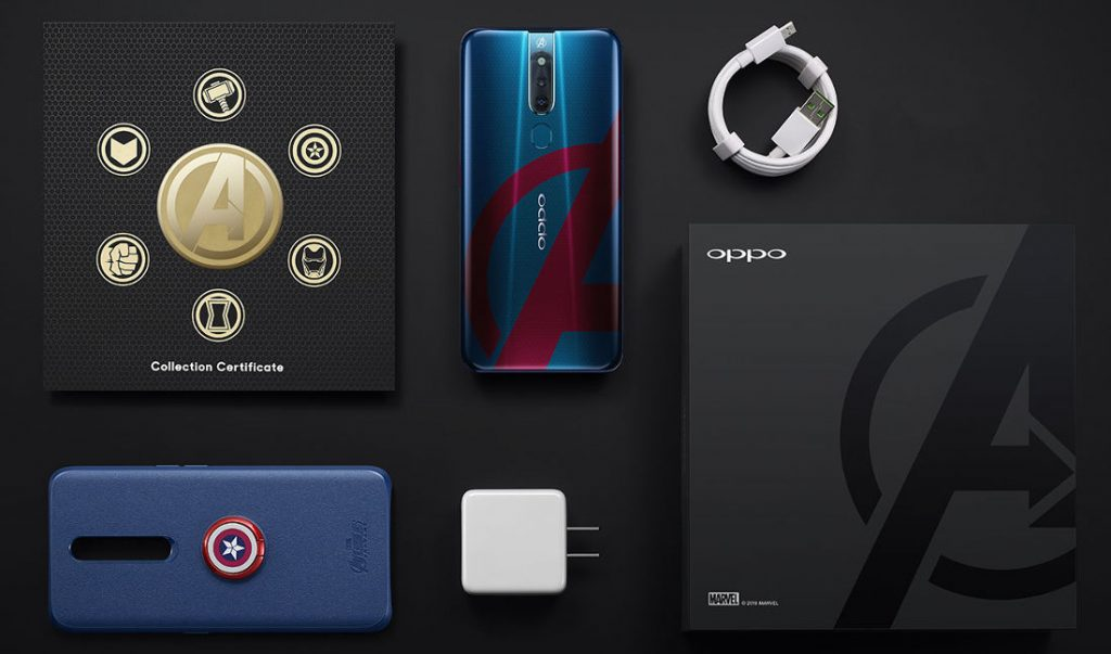 OPPO-F11-Pro-Avengers-Limited-Edition-Box-Contents