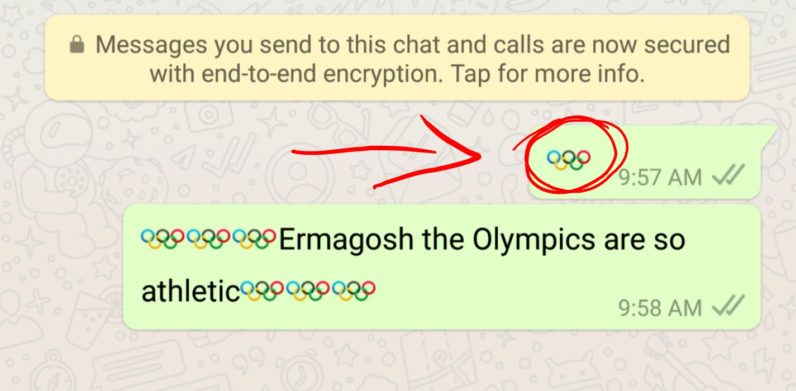 Olympics-WhatsApp