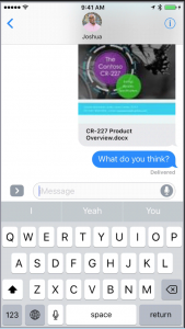 OneDrive for iMessage