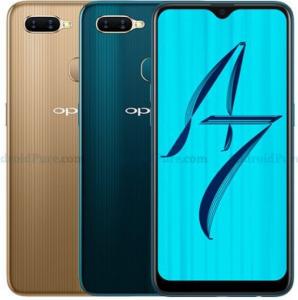 Oppo A7- renders