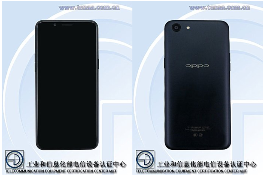 Oppo A83 with octa-core CPU.