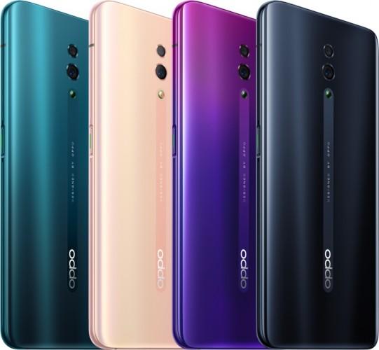 Oppo Reno colors