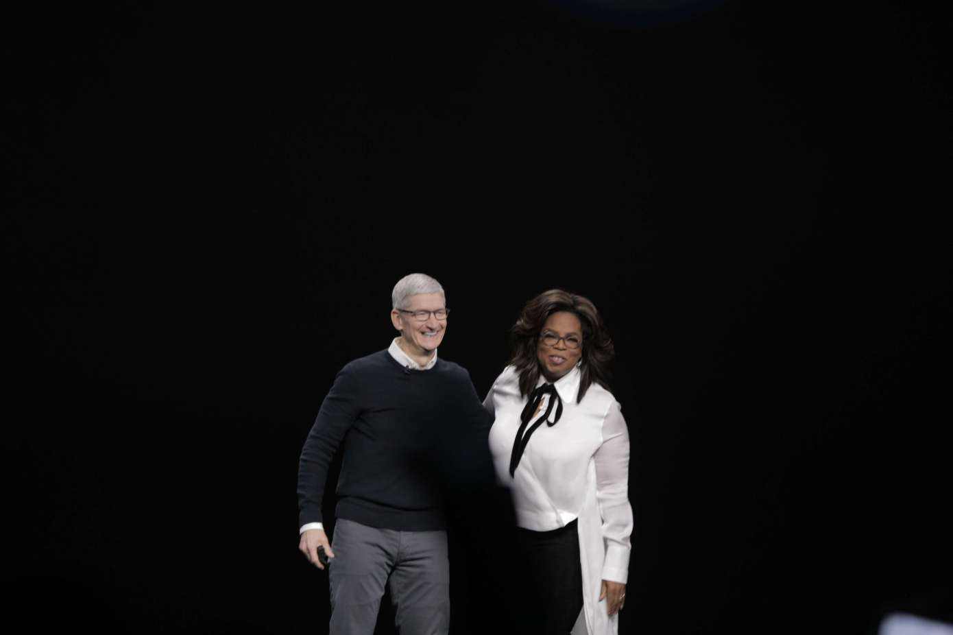 Oprah partnership with Apple
