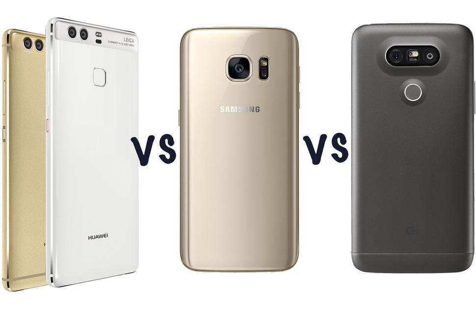 P9- P9 Plus- Galaxy S7- LG G5