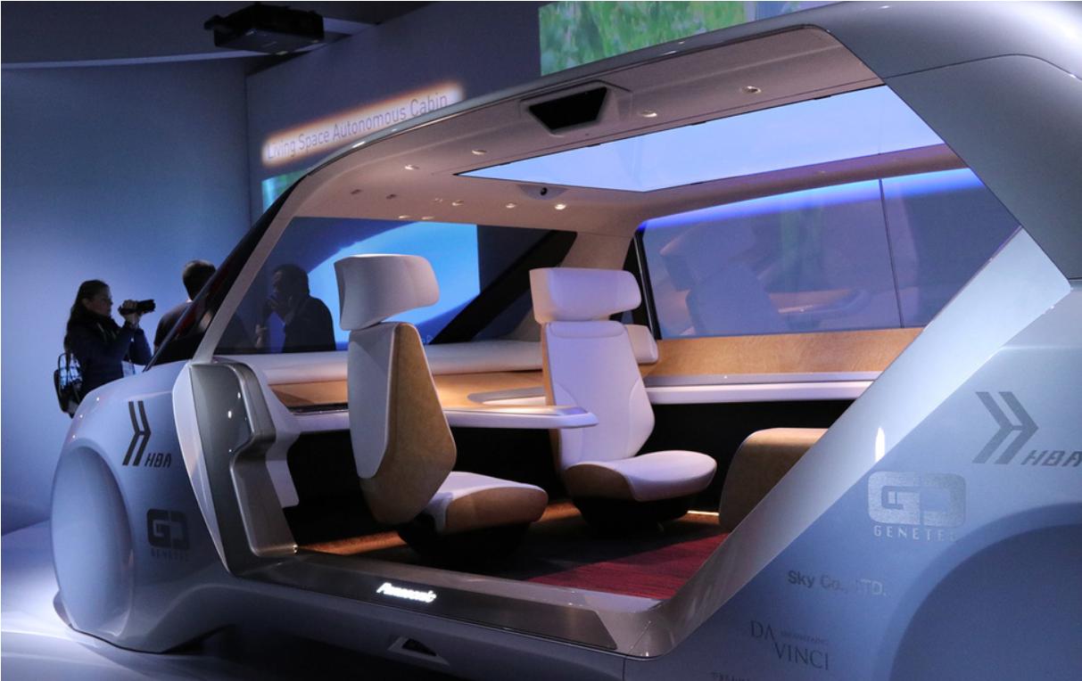Panasonic Autonomous Future Concept