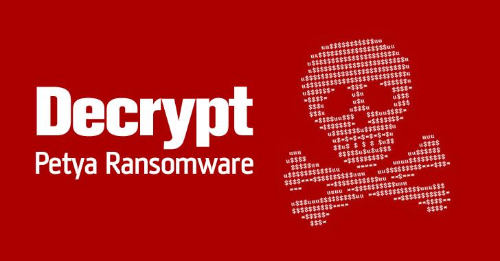 Petya malware