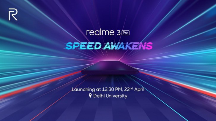 Realme 3 Pro event