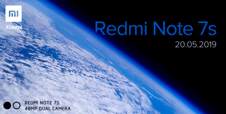 شاومي تستعد لإطلاق هاتف Redmi Note 7S في مؤتمر 20 مايو