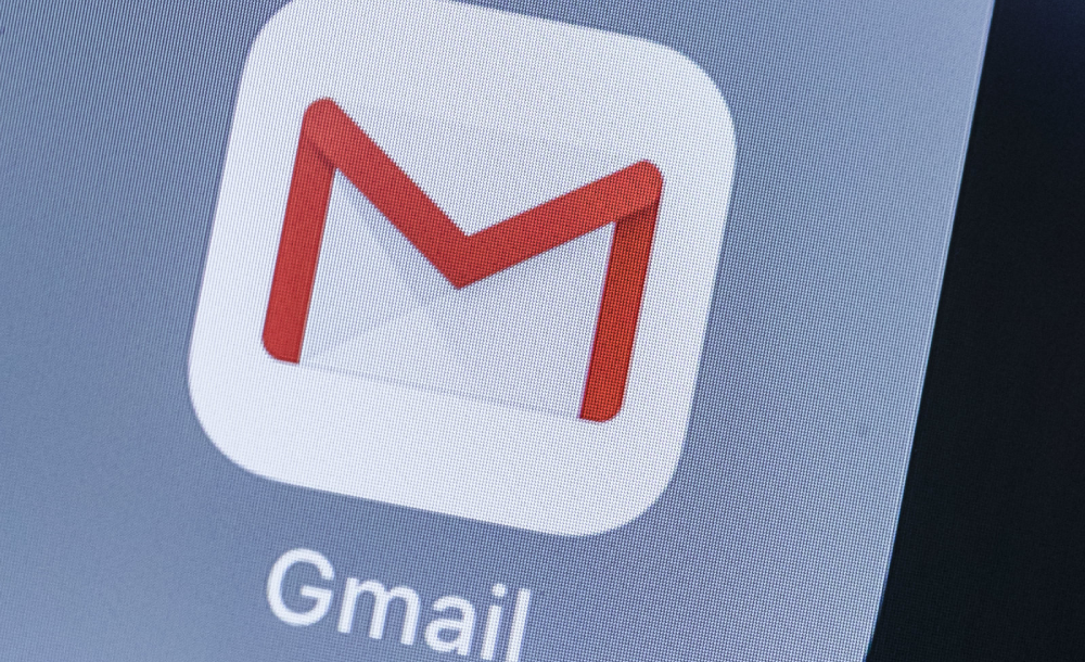 Right-clicking in Gmail