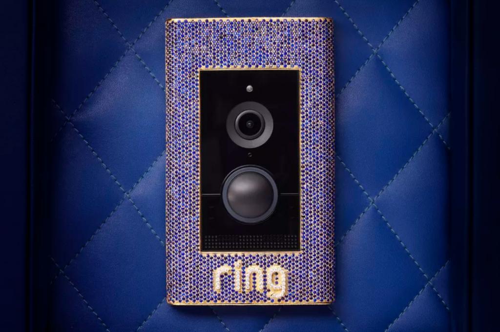 Ring تقدم جرس باب ذكي مرصع بالمجوهرات بسعر 100000 دولار!