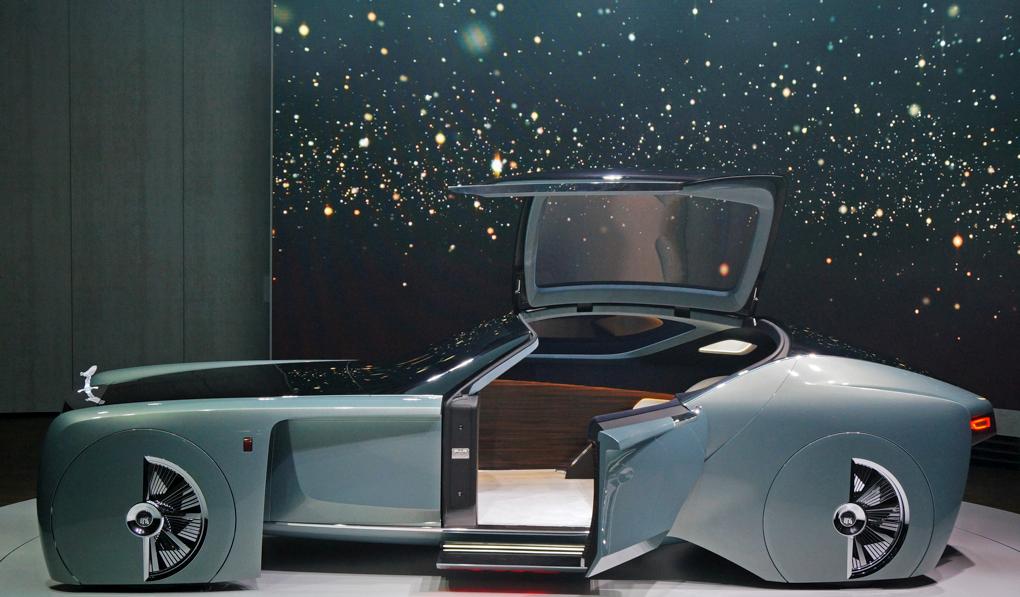 Rolls-Royce Vision 100 concept