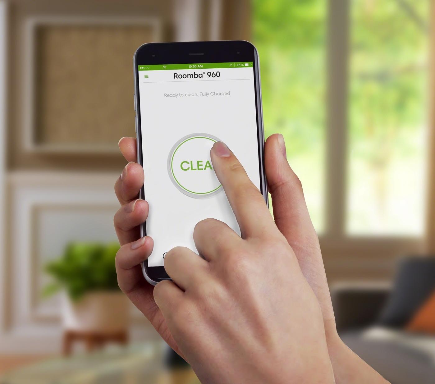 Roomba 960-app