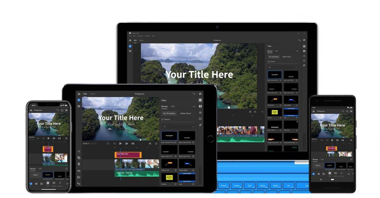 Adobe تطلق تطبيق Premiere Rush CC لتحرير مقاطع الفيديو لمستخدمي يوتيوب