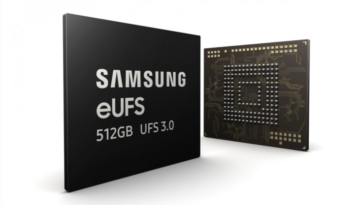 Samsung-512GB eUFS 3