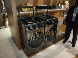 Samsung FlexWash and FlexDry laundry