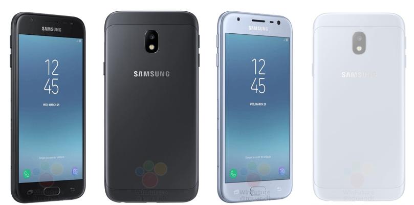 Samsung Galaxy J3 2017 colors