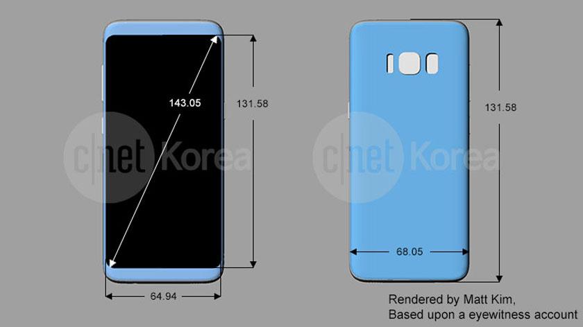 Samsung-Galaxy-S8-شاشة