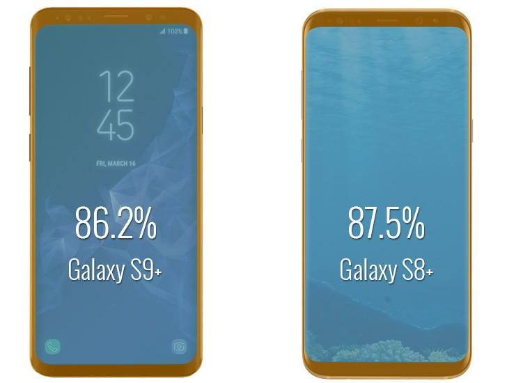 Samsung Galaxy S9-vs-Galaxy S8