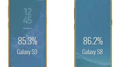 Samsung Galaxy S9 vs Galaxy S8