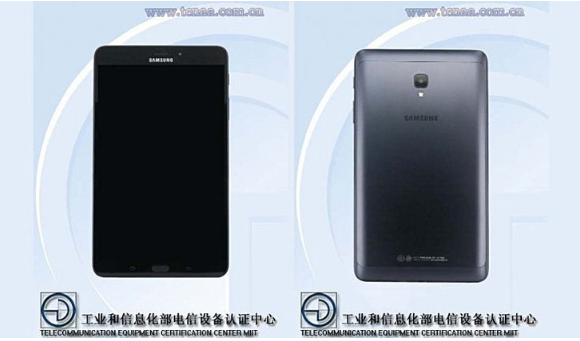 Samsung Galaxy Tab A 8.0 (2017) gets TENAA certified
