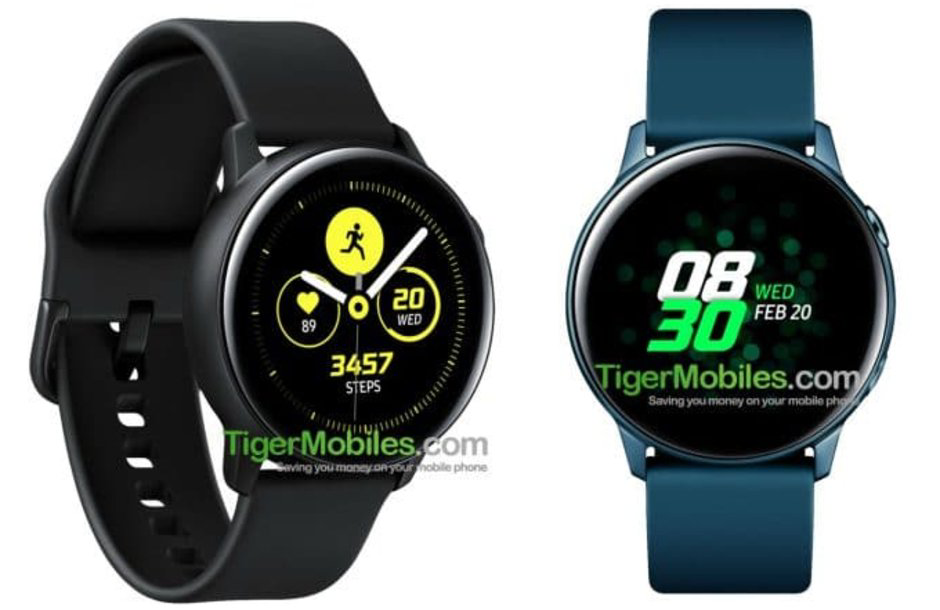 Samsung-Galaxy-Watch-Active-leaked-specs-suggest-bigger-display-but-smaller-battery