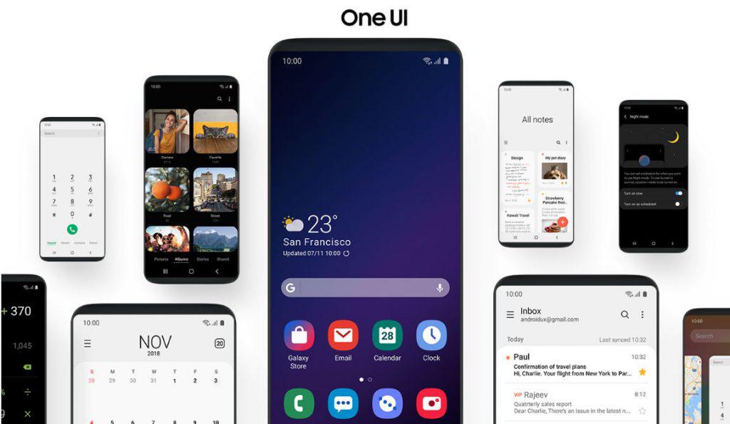 الإصدار التجريبي من واجهة One UI يتوفر أيضا لمستخدمي Galaxy S8 و Note8