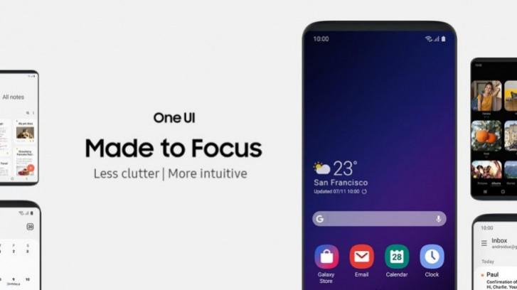 واجهة One UI 20 تدعم أهم مميزات تحديث Android Q القادم